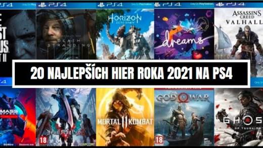 Najlepšie hry na PS4 2021