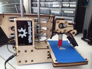Printrbot printing.