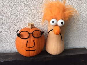 Happy Halloween from Dr. Bunsen Honeydew and Beaker!
