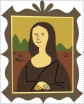 The Mona Lisa SVG has fill which covers hidden lines.