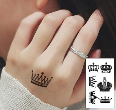 The Crowns We Carry King Queen Temporary Tattoo Gifting In India Geekmonkey