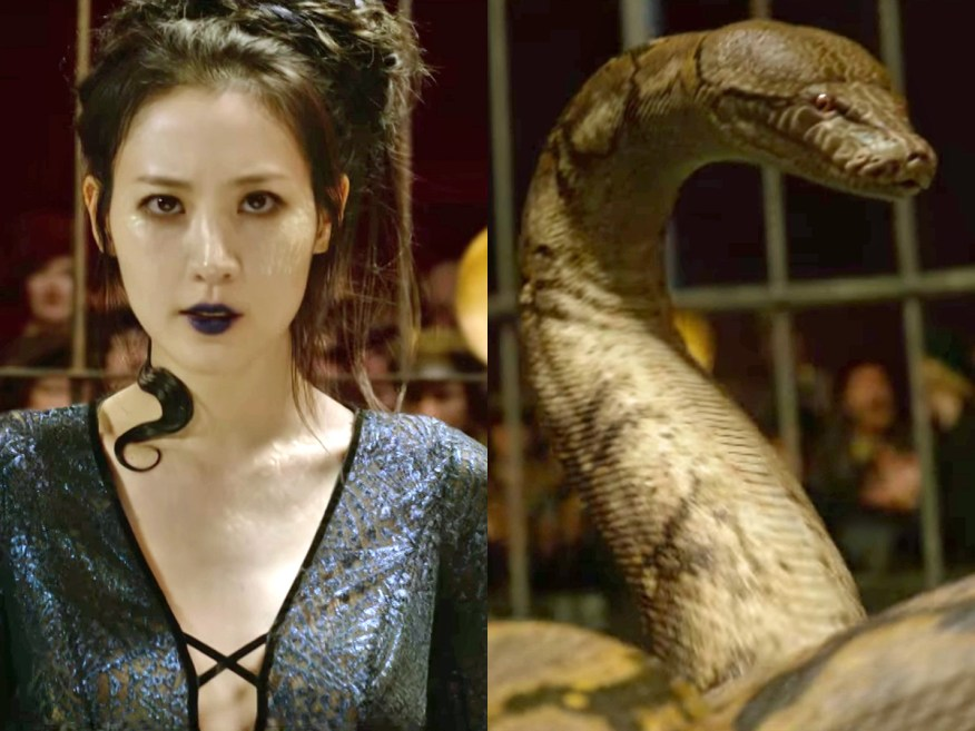 Claudia Kim plays, Nagini, a maledictus in Fantastic Beasts: Crimes of Grindelwald