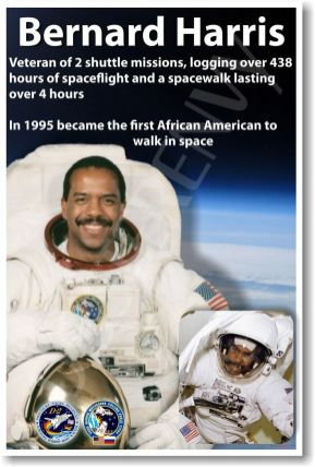Dr. Bernard Harris--First African-American to walk in space.