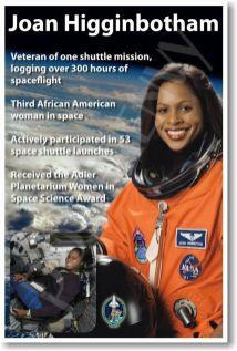 Electrical Engineer & Mission Specialist Joan Higginbotham