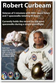 Captain Robert Curbeam-Veteran of Seven Space Walks