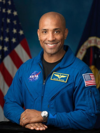 Commander Victor J. Glover-First African-American on an ISS expedition