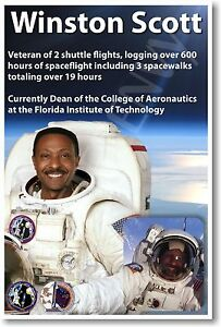 Captain Winston Scott-Veteran of three spacewalks