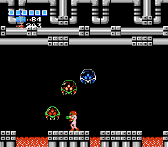The original Metroid game was released in August of 1986. Image from Nintendo.