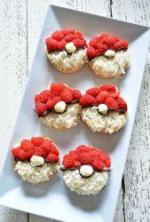 Cookies de pokémon con frutas del bosque