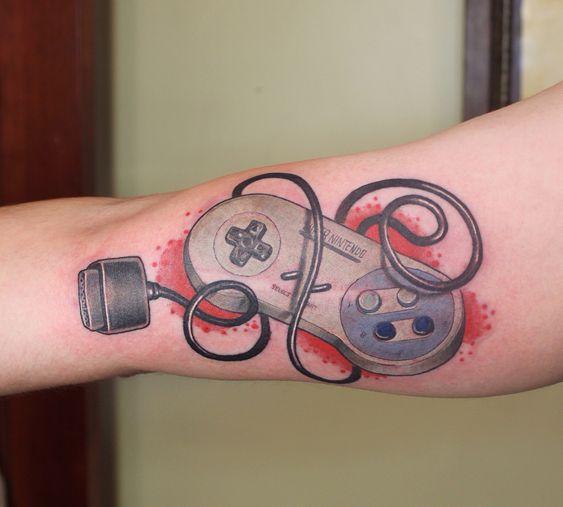 Los Mejores Tatuajes Para Gamers Tatuajes Pequeños De Videojuegos