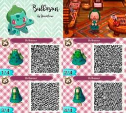 Vestido Bulbasaur Animal Crossing