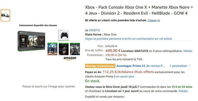 Amazon Prime Xbox