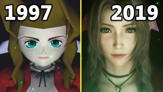 démo Final Fantasy VII close look