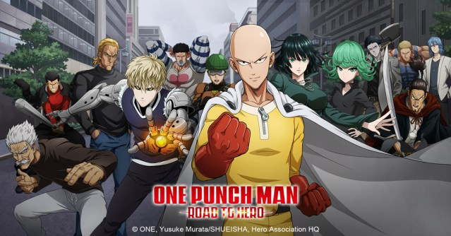 One Punch Man: Road to Hero – Le jeu mobile officiel!