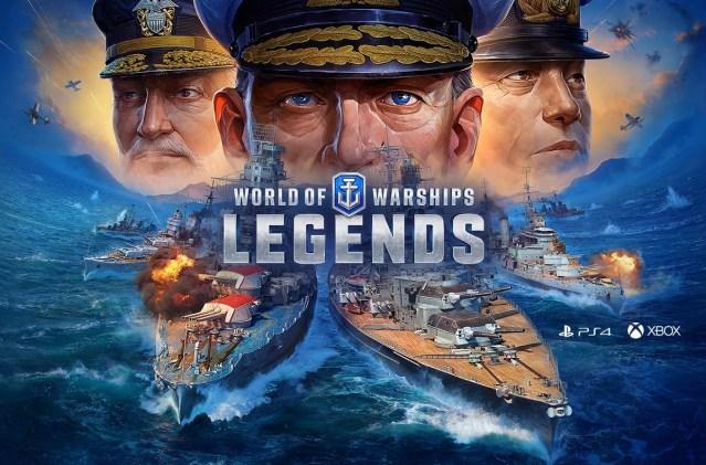 World of Warships: Legends – Sortie officielle et nouvelle campagne
