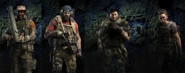 Ghost recon Breakpoint classes