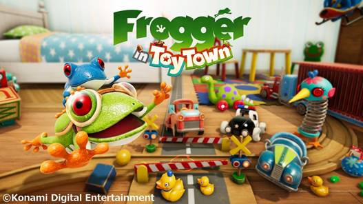 Frogger in Toy Town – Débarque en exclusivité sur Apple Arcade !