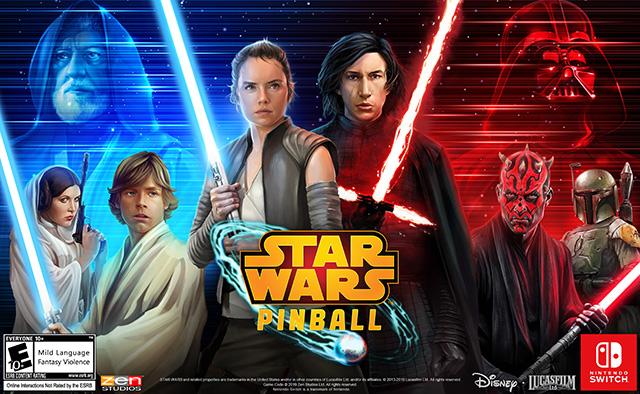 Star Wars Pinball – Désormais disponible sur Nintendo Switch !