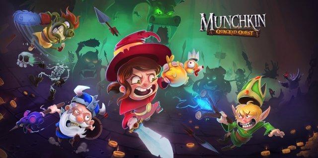 Munchkin: Quacked Quest – De nouvelles images dévoilées pour le dungeon crawler