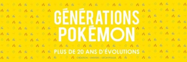 Pokémon – Mise à jour du livre Générations Pokémon