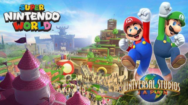 Nintendo – Super Nintendo World se précise en image