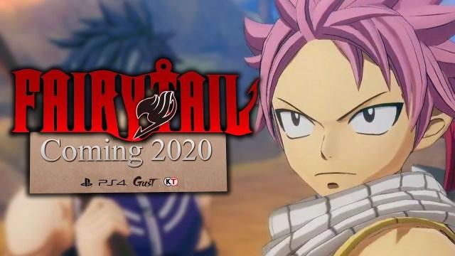 Fairy Tail – Le jeu sortira finalement le 25 juin 2020 !