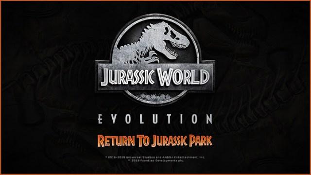 Jurassic World Evolution – Découvrez les dinosaures emblématiques du film original en action dans une nouvelle vidéo !