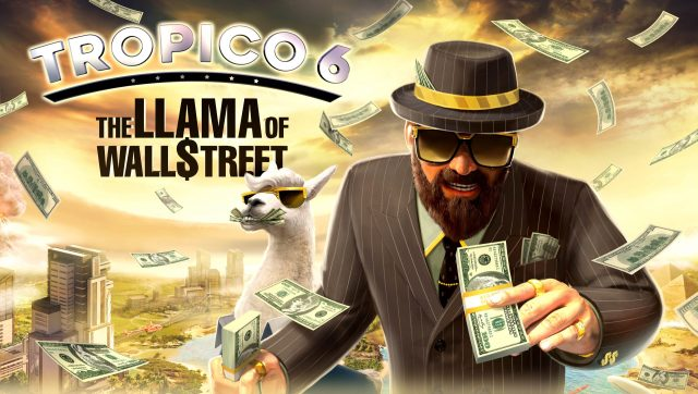 The Lama Of Wallstreet Keyart