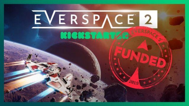 Everspace 2 – Fin du Kickstarter, début de développement.