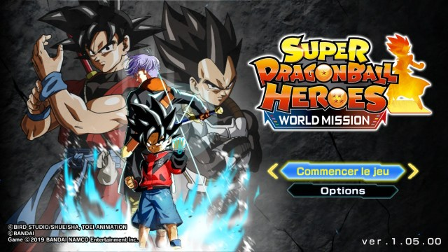 Super Dragon Ball Heroes : World Mission – Présentation de la nouvelle MAJ