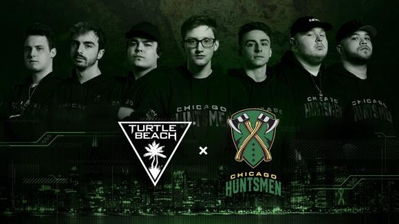 Turtle Beach – Partenaire de périphériques officiel des Huntsmen de Chicago