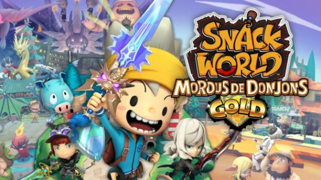 TEST – Snack World : Mordus De Donjons – Gold