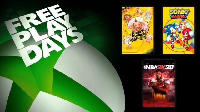 Free Play Days – Trois jeux jouables gratuitement dès maintenant
