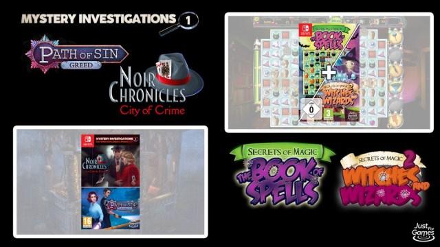 Just For Games – Deux nouvelles compilations arrivent sur la Switch