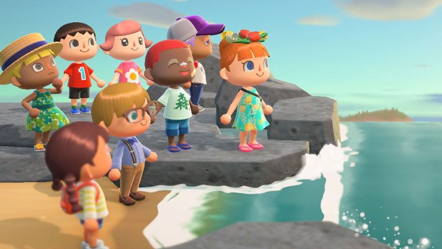 Animal Crossing New Horizon boutique