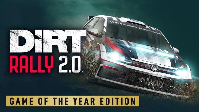 DiRT Rally 2.0 – édition jeu de l'année maintenant disponible !