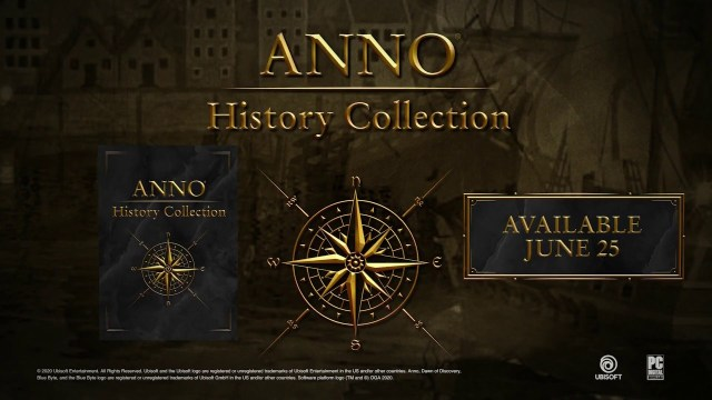 Anno History Collection – Arrive en juin sur PC