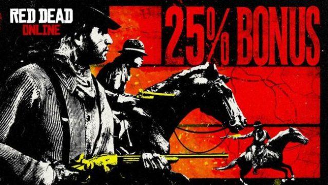 Red Dead Online – Les bonus de cette semaine !