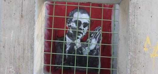 "Banksy, ""Concrete Confessional"", 2013"