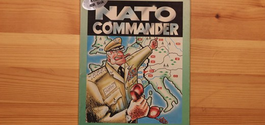 """NATO Commander"", MicroProse Software, 1983."