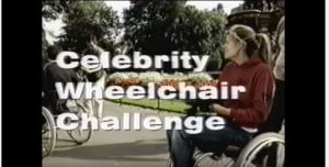 Celebrity Wheelchair Challenge