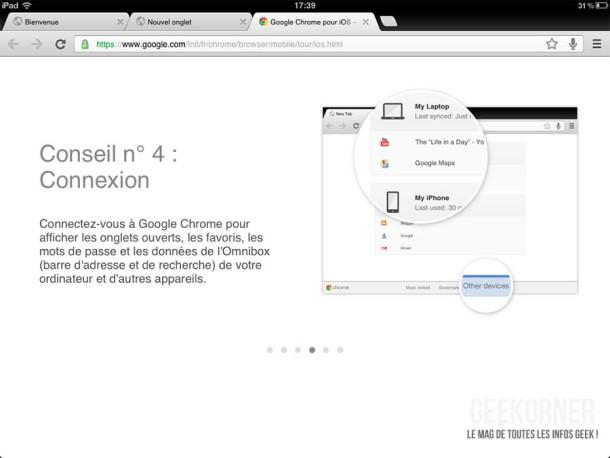 Google Chrome iPad10