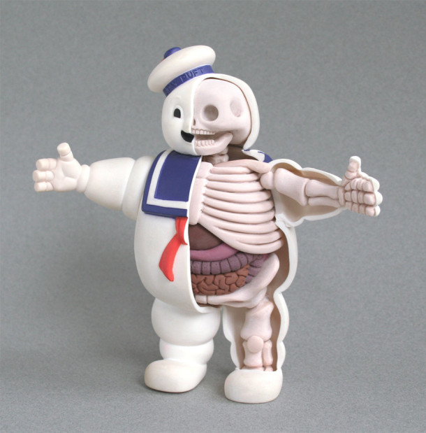 Puft-Anatomie-Jason-Freeny-Sculpture-Geekorner