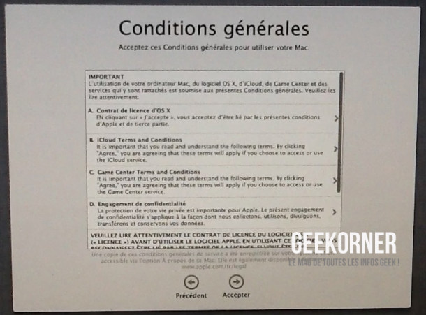 Installer Mountain Lion - Geekorner  - 18
