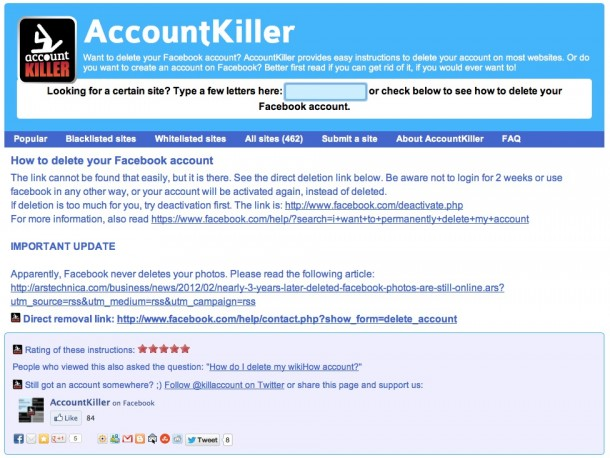 AccountKiller - Geekorner - 3