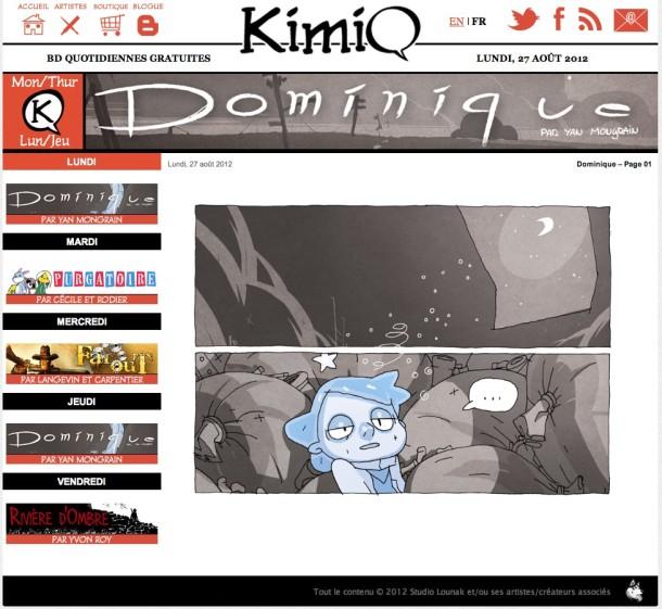 KimiQ Page - Geekorner