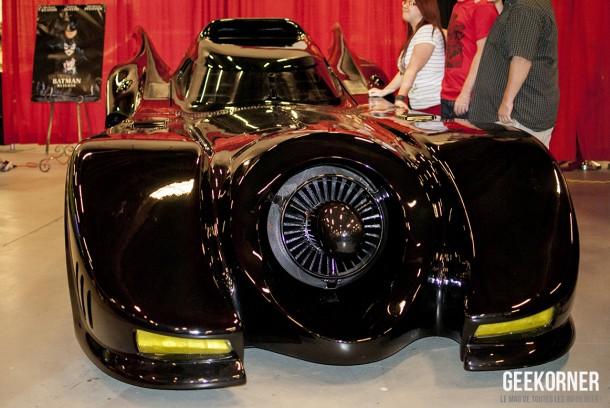 Batmobile 1989 - Comiccon Montréal 2012 - Geekorner - 001