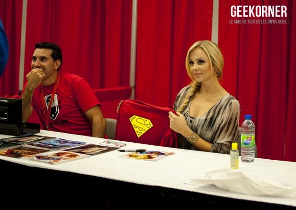 Laura Vandervoort - Supergirl - Comiccon Montréal 2012 - Geekorner - 002