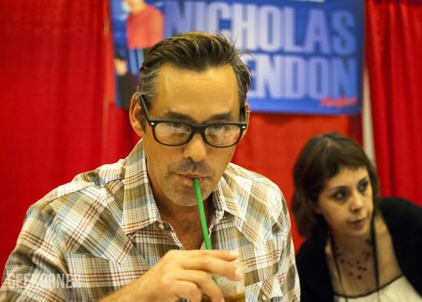 Nicholas Brendon - Alex - Buffy - Comiccon Montréal 2012 - Geekorner - 003