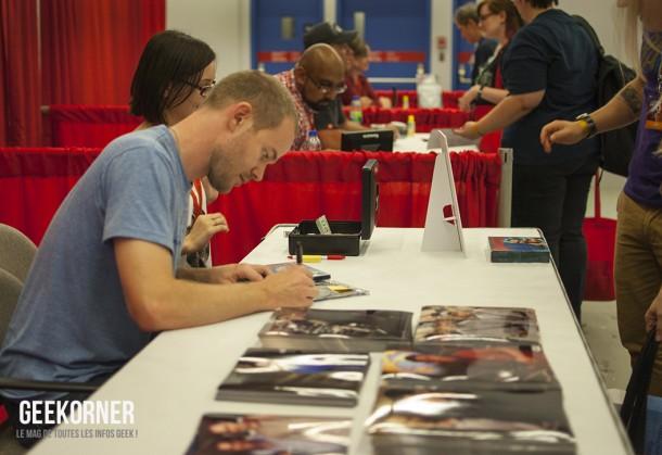 Warehouse 13 - Aaron Ashmore - Comiccon Montréal 2012 - Geekorner - 013